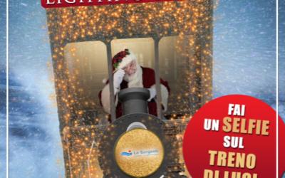 Christmas Lighting Train
